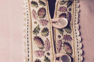 textura vestido 1960 escapararte