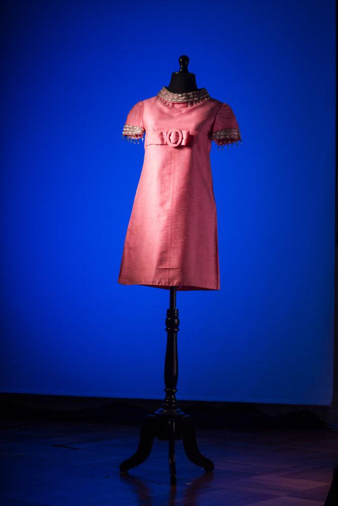 vestido rosado 60