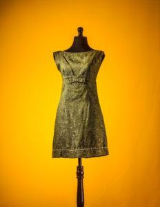 vestido verde 60